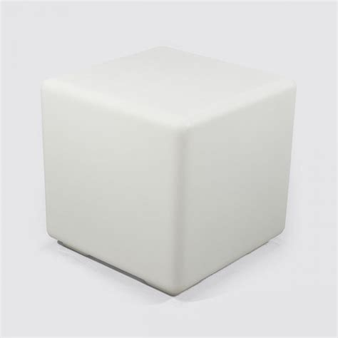 led light cube stool colour changing led cube stool hire presentation design