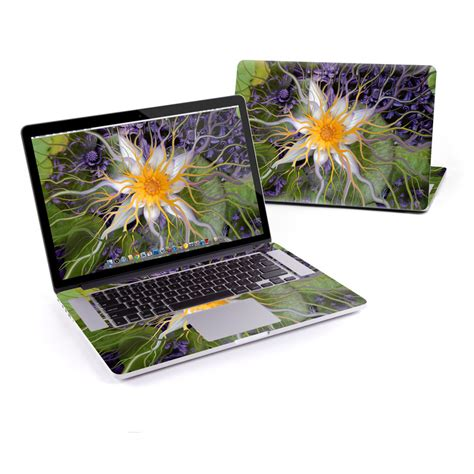 macbook pro retina 15in skin bali flower by fusion idol decalgirl