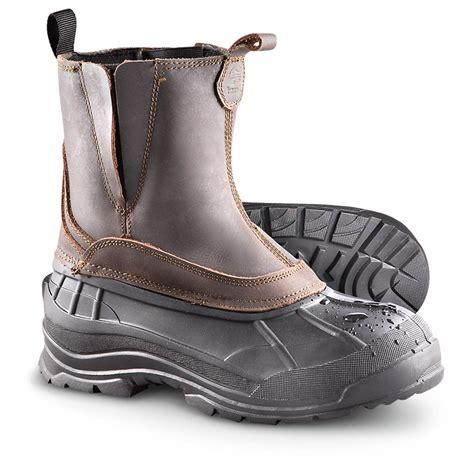 mens pull on winter boots s kamik 174 200 gram thinsulate insulation dawson