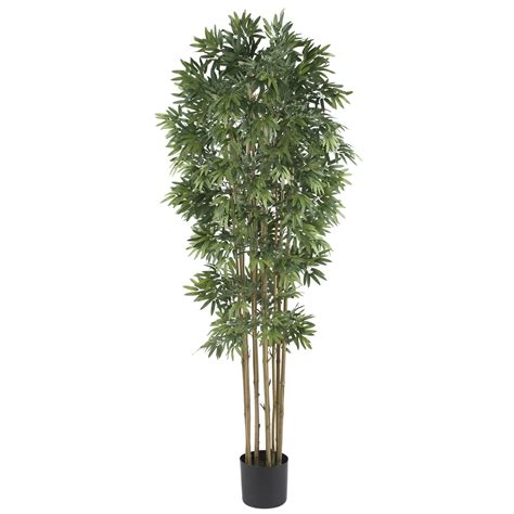 Faux Tree - 6 foot bamboo japanica tree potted 5045 nearly