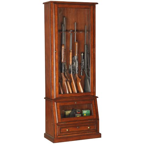 Gun Cabinet by American Furniture Classics 898 Wood 12 Gun Cabinet With
