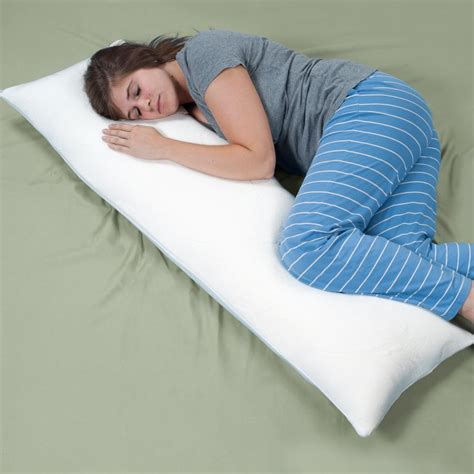 bed full of pillows remedy complete comfort shredded memory foam body pillow