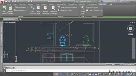 tutorial autocad mep tagging plumbing plans