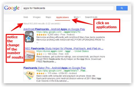 How To Narrow Search S Simple Tutorial On How To Search For Apps On Educational Technology