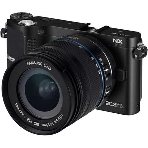 Kamera Mirrorless Samsung Nx210 samsung nx210 mirrorless wi fi digital ev