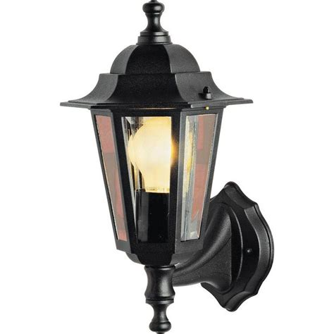 Argos Outdoor Lighting Buy Home Black Outdoor Wall Lantern At Argos Co Uk Your Shop For Wall Lights And