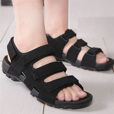 Sandal Casual Black Master high quality new casual sandals shoes black and brown flat shoes summer zapatos