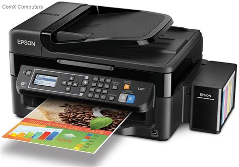 Printer Epson L565 Specification Sheet C11ce53402 Epson L565 Multifunction Inkjet Printer With Fax