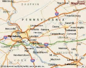 Hershey Pennsylvania Map by Hershey Pennsylvania