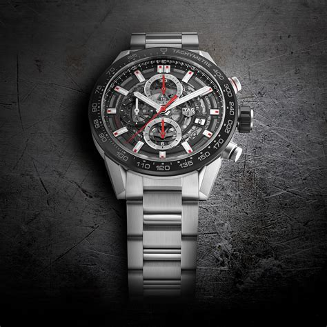 Tagheuer Skeleton Black Tag Heuer Heuer 01 43 Mm Skeleton Pre Baselworld