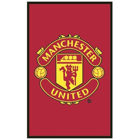 manchester united floor rug new official man utd ebay