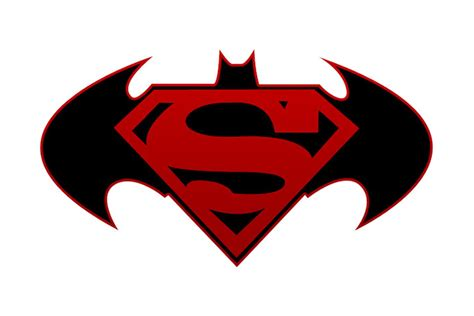 Kalung Logo Superman Vs Batman batman superman logo clipart best
