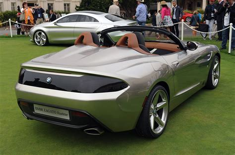 bmw zagato roadster bmw zagato roadster monterey 2012 photo gallery autoblog