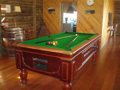 pool table kitchen table echo ridge