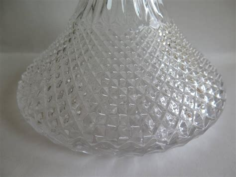 cut crystal vessel 19th century ship s decanter crystal cut glass