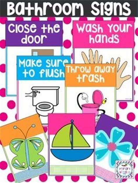 bathroom signs for classroom 1000 ideas about daycare setup on pinterest home