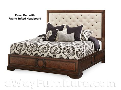 tufted headboard bedroom set cera panel bed with fabric tufted headboard bedroom set