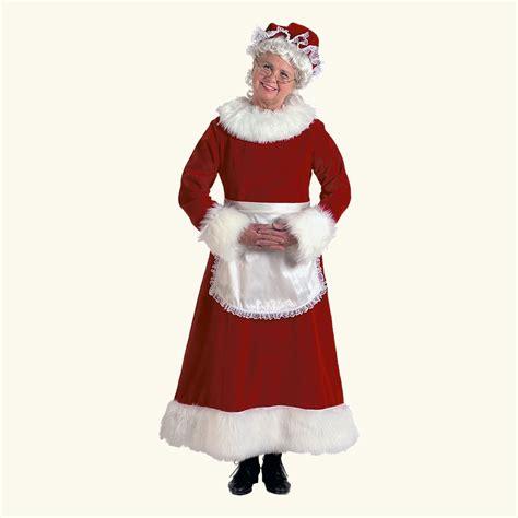 halco burgundy velvet mrs claus costume santa co llc