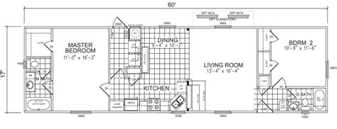 18 wide mobile home floor plans sorrel 18 x 60 1020 sqft mobile home factory expo home