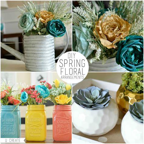 spring diy diy spring floral arrangements u create