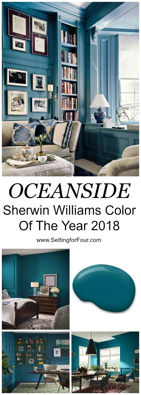 sherwin williams oceanside 2018 color of the year sherwin williams oceanside color of the year 2018