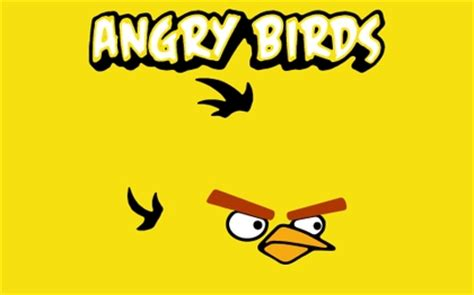 yellow wallpaper game video games angry birds yellow bird yellow background high