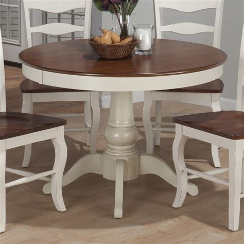 jofran 141 42 county pedestal dining table
