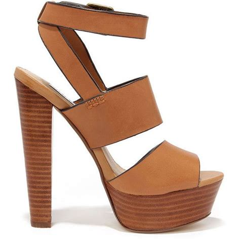 A C C E P T Falihah Sandal steve madden dezzzy leather platform high heels found