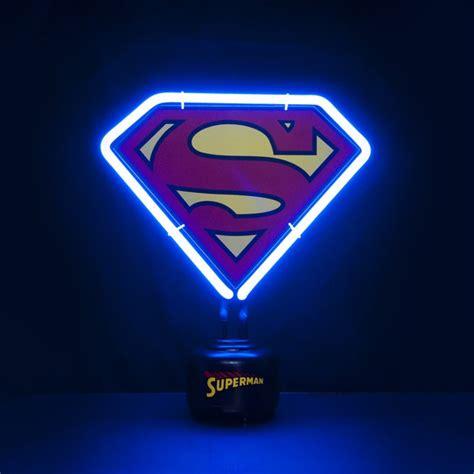 Kaos Superman Logo Klasik Glow In The Heroes Dc Logo L2k superman dc comics mini neon pop in a box us
