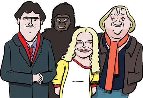 nine oclock news lloyd in mustard comedy mag