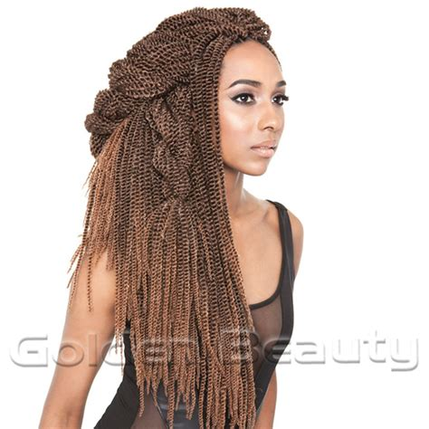 soul twist bulk hair new fashion folded senegalese synthetic hair extension 18