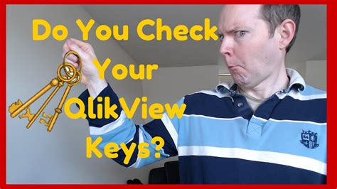 qlikview tutorial for beginners youtube do you check your qlikview keys qlikview for beginners