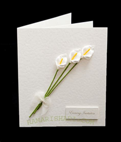 Handmade Wedding Card Designs - handmade wedding cards