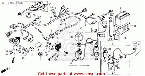honda fourtrax diagram wiring diagrams wiring diagram
