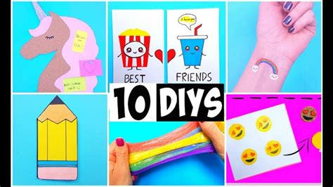 10 Fab Gifts For Your Bff by 10 Amazing Diy School Supplies Bff Gift Ideas
