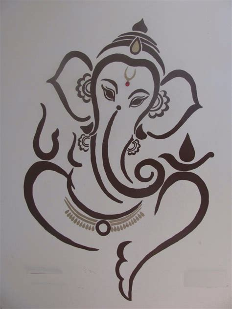 ganesh tattoo template ganesh search and google search on pinterest