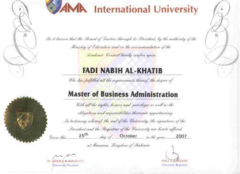 In Bahrain For Mba Marketing by Fadi Khatib Bayt