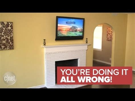 why a tv should never be mounted over a fireplace you re