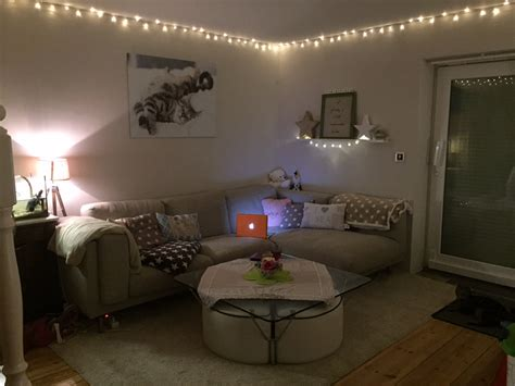 lichterkette wohnzimmer rundgang wohnzimmer und k 252 che hausbau