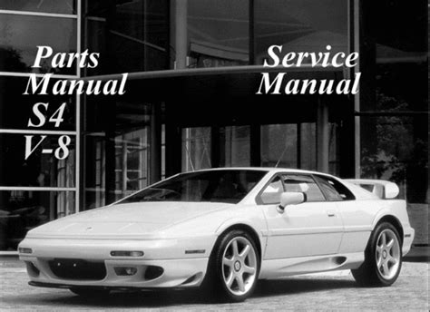 service manual free download parts manuals 2001 lotus esprit electronic valve timing service lotus esprit s4 v8 service parts manual download download manua