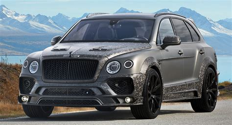 custom bentley bentayga mansory joins the bentley bentayga customization in