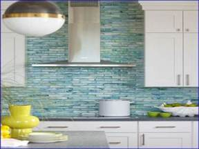 Glass Tiles Kitchen Backsplash Kitchen Glass Backsplash Home Design
