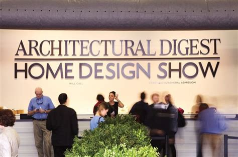 architectural digest home design show exhibitors arch digest show 2015 is coming tomorrow