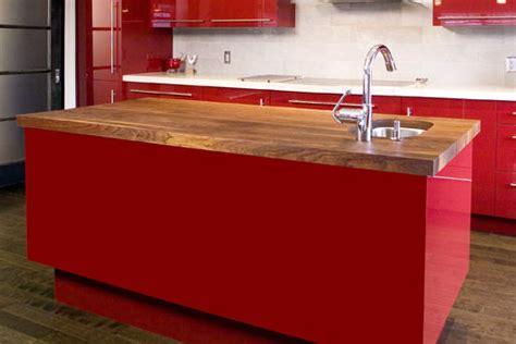 arbeitsplatte rot moderne arbeitsplatten in der k 252 che tipps und