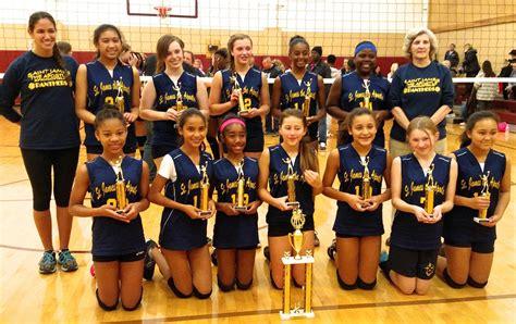 saint james the apostle school volleyball teams take home