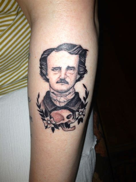 poe tattoo my edgar allan poe tattoos