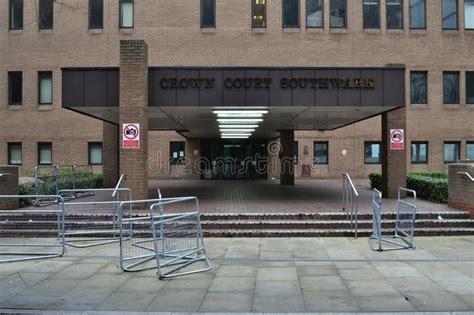 penale di tribunale penale londra di southwark fotografia editoriale