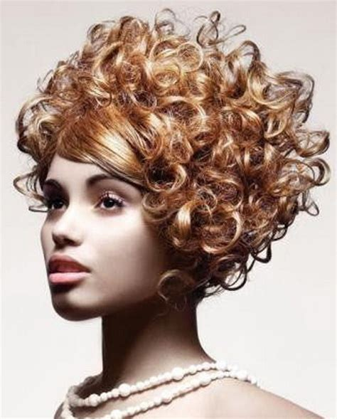 short permed hairstyles 2014 short curly permed hairstyles