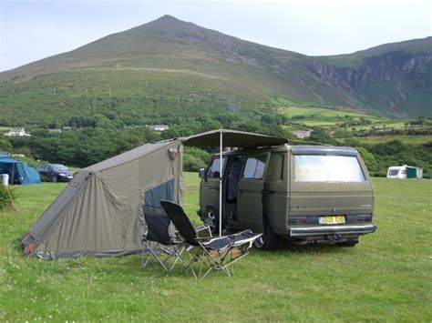 drive away awnings for vw t5 anyone using standard tent for drive away awning the
