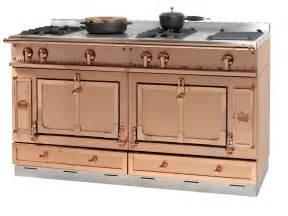 copper appliances kitchen stainless steel cooker ch 194 teau 150 by la cornue